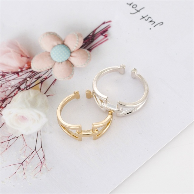 2019 New Fashion Adjustable Ring Open Mountain Rings for Women Birthday Gift RW0006