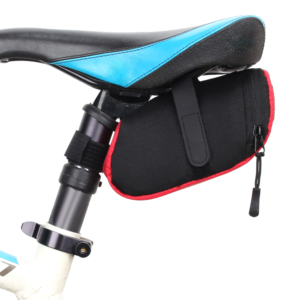 Bicycle Bike Waterproof Nylon Saddle Bag Tail Rear Cycling Seat Pouch Storage