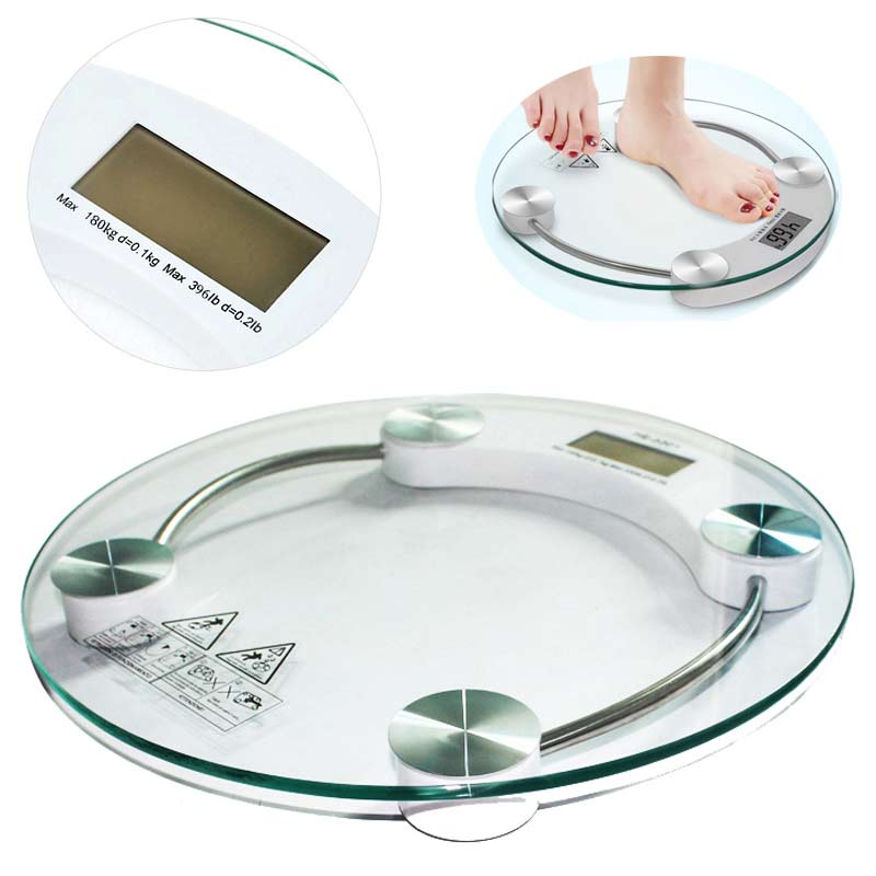 Hot Sale Digital LCD Electronic Glass Bathroom Weighing Scales Weight Loss Bath Health 88