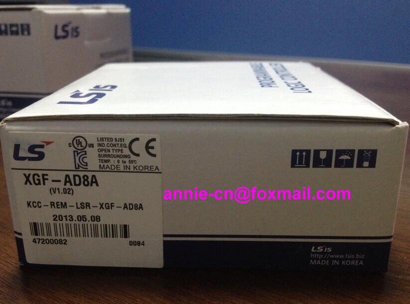 100% New and original  XGF-AD8A  LS(LG)  PLC  Analog input module замок навесной matrix