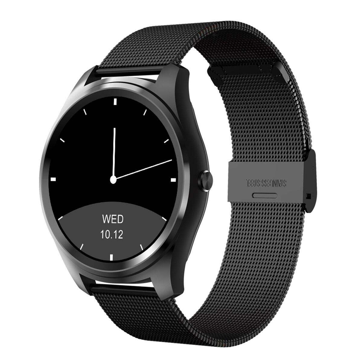Diggro DI03 reloj inteligente MTK2502C Monitor de ritmo cardíaco Pedometer Sedentary recordar sueño Monitor notificaciones empujando