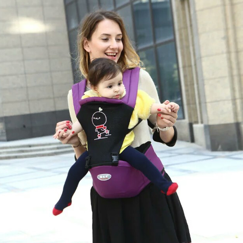 Children Carrying Ergonomic 3in1 Waist Belt Sling Belt Kids Infant Hip Seat Breathable Backpack Pouch Wrap