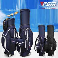 PGM bolsa de deporte de Golf bolsa de ruedas telescópica estándar juego de viaje multifuncional impermeable bolsas de aviación D0477