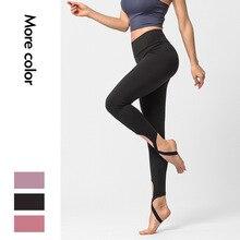 Новые Нейлоновые штаны для йоги женские Пуш-Ап Леггинсы для йоги спортивные женские колготки для фитнеса спортивные штаны для женщин спортивные Леггинсы для фитнеса
