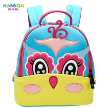 Owl Kindergarten Backpack 3D Embroidered Children Bag Ultra Light Offload Cute Cartoon Anime Boy Kids Backpacks for School Girls