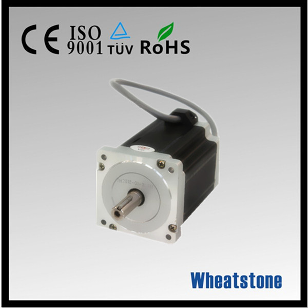 86BYGH350C three phase stepper motor 1 2 degrees 123mm engraving machine motor parts font b 3D