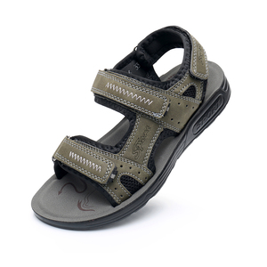Image 4 - Apakowa Big Boys Summer Peep toe Ankle Strap Sandals Older Kids Beach Walking Travelling Sports Trainer Sandals Outdoor Footwear