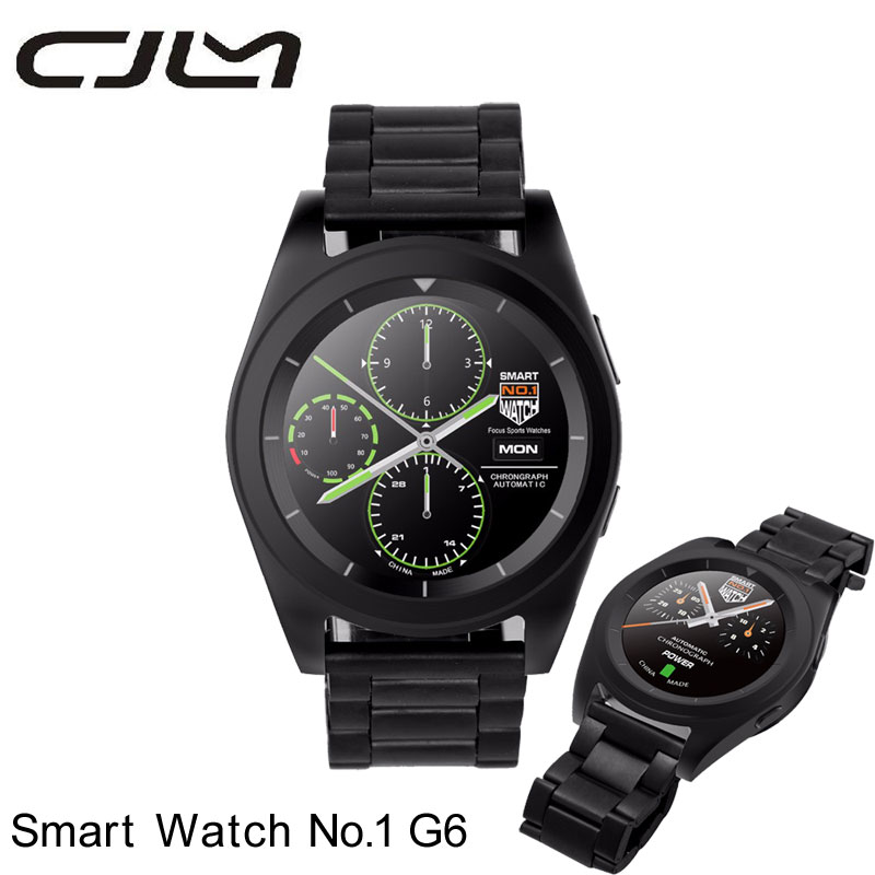 NO.1 G6 Smart Watch Bluetooth  Smart Watch MTK2502 Heart Rate Monitor Fitness Tracker Call SMS Reminder Camera For Android iOS ar814 30 130 dba 35 130 dbc digital decibel meter