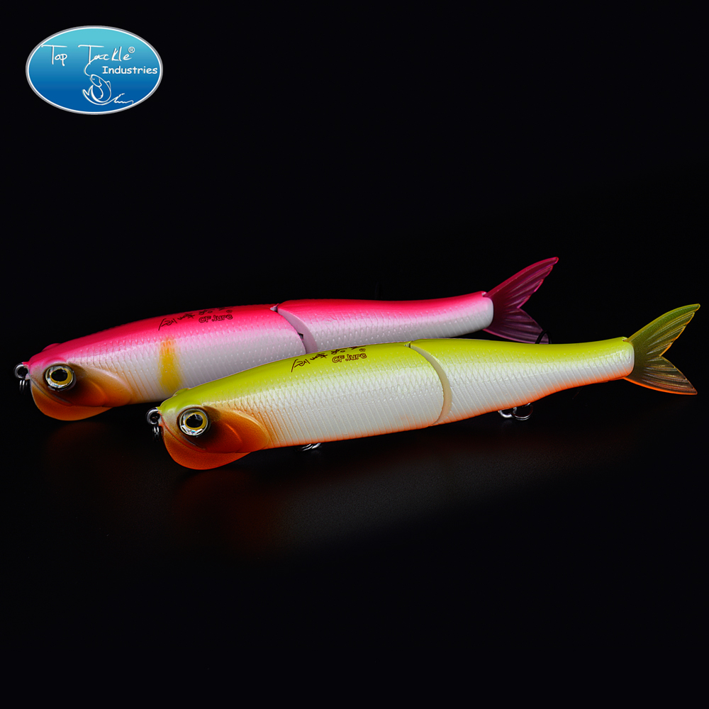 Free Shipping 2-Segement Jointed Bait Swim baits Crystal Mouth with Soft tail Fishing Lure 140MM/29G fishing lure artificial bait swim bait 135mm 55g sinking 2 segement vib with soft double tail jerk bait