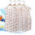 3 слоя Ребенка спальный мешок толстые SleepSacks Одеяло муслина Мягкий Жилет Типа Хлопка Марли Новорожденного Ребенка Спать Sleepsacks