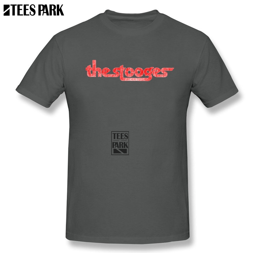 84004ac8 Funky The Stooges distressed Retro T Shirts Men O Neck Tee Shirt High  Quality Teenage Discount T Shirt Dress Plus Size-in T-Shirts from Men's  Clothing on ...