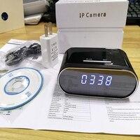 Z10 1080P Mini Camcorders Table Clock Camera Alarm Setting Mini Camera IR Night Vision Wifi Cam IP Clock Camera Mini DV DVR