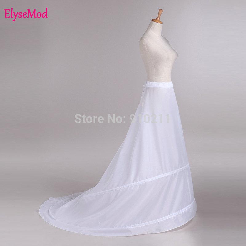 Nieuwe stijl 2 hoepels bruiloft bruids petticoat bruiloft Undeskiert - Bruiloft accessoires - Foto 1