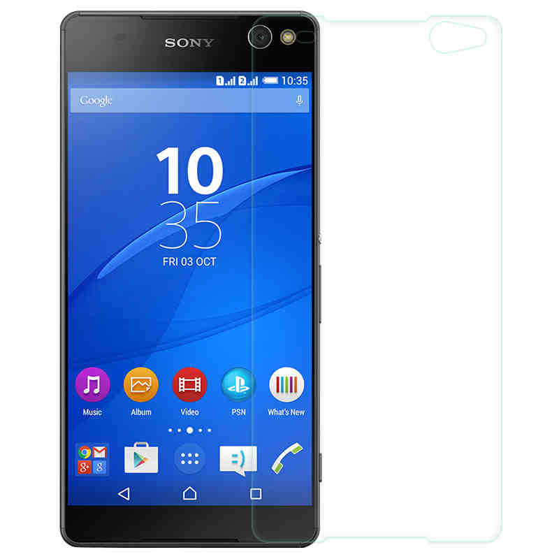 For Sony Xperia C5 Ultra Glass Thin Film Screen Protector for Sony Xperia C5 Ultra Tempered Glass for Sony C5 Ultra Dual E5533