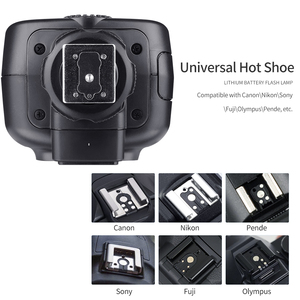 Image 5 - Godox TT600 2.4G Wireless Camera Flash Speedlite + X1T C/N/F Transmitter Wireless Flash Trigger for Canon Nikon Fujifilm Olympus