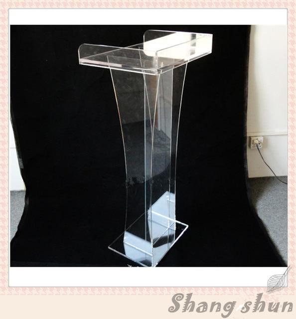 Plexiglass Desktop Lectern Acrylic Table Top Lectern Church Pulpit Designs Modern Church Podium Acrylic Podium Stand