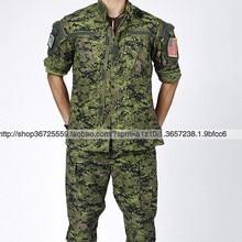 Военная форма США для мужчин, Канадская цифровая камуфляжная Специальная Военная тренировочная куртка и штаны