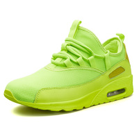36 45 Unisex Mesh Summer Sneakers Classic 90 Running Shoes AIR Cushion Lightweight Women's Shoes Green Black Red White Shoes