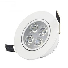 LED Dimmable Downlight Super Bright Recessed CREE 9W 12W 15W 21W LED Spot light LED Recessede Ceiling Lamp AC 110V220VAC85-265V