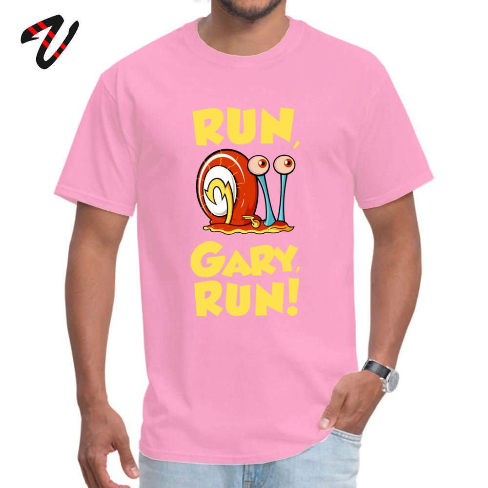 Run Gary RUN T Shirt Latest Round Collar Design Short Sleeve 100% Cotton Fabric Male T Shirts Hip hop Tops T Shirt Run Gary RUN 9540 pink