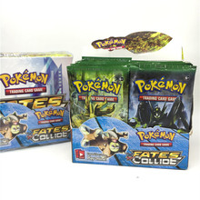 Fy Toy 9PCS/Bag Pokemon Cards Game English Anime Pokemon Card Toy For Children Gift Funny Toy With Free Shipping cwjl005