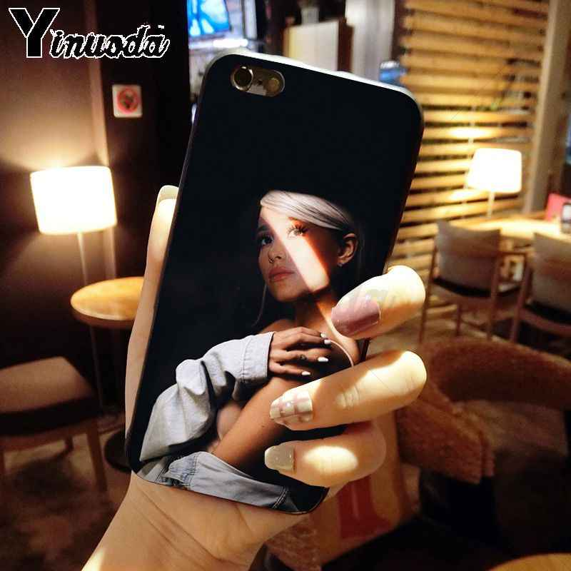 Yinuoda ariana grande Novelty Fundas โทรศัพท์สำหรับ iphone 8 7 6 6 S Plus 5 5S SE XR X XS MAX Coque Shell