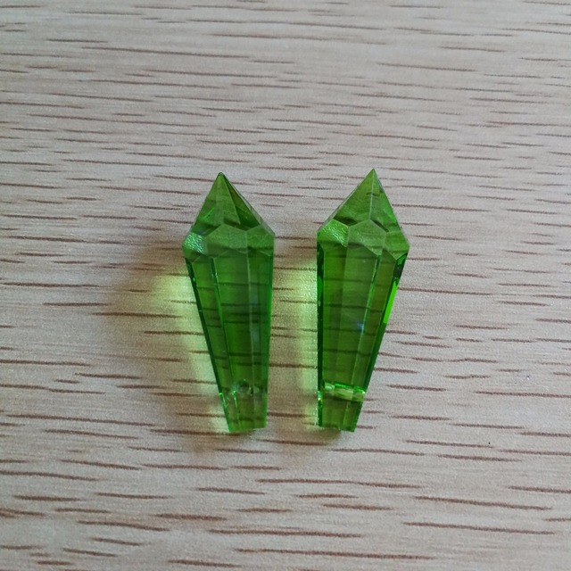 38mm apple green 80units crystals for chandeliers glass lamp parts 38mm apple green 80units crystals for chandeliers glass lamp parts sparkle drop pendant for lighting mozeypictures Gallery