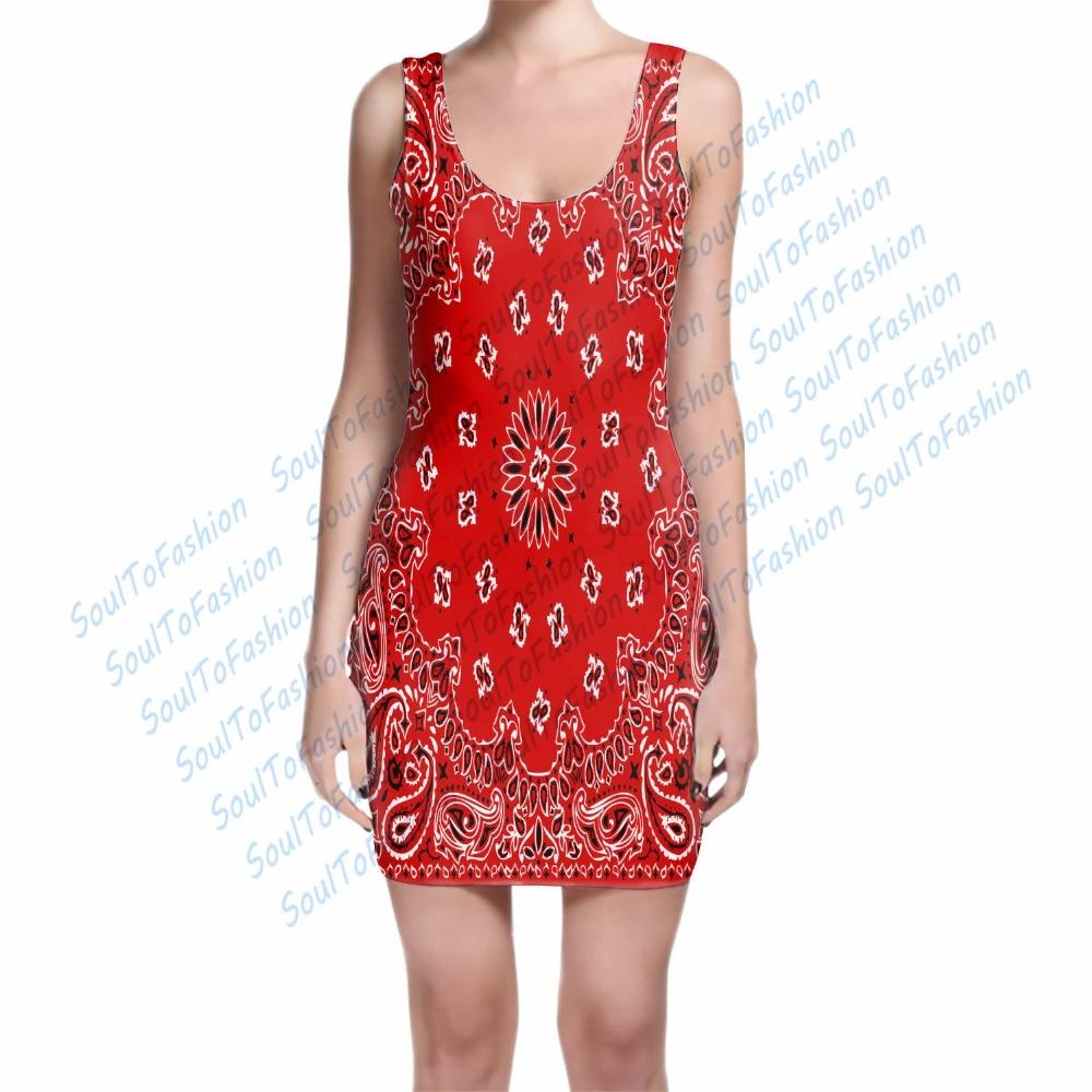Popular Bandana Print Dress-Buy Cheap Bandana Print Dress lots ...
