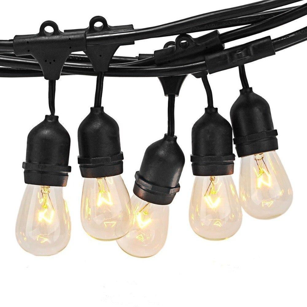 Thrisdar 10/15PCS 11W Globe Bulb Commercial Grade Outdoor