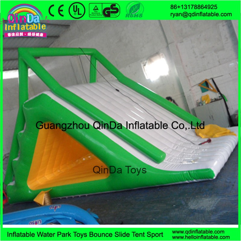 inflatable floating water slide37