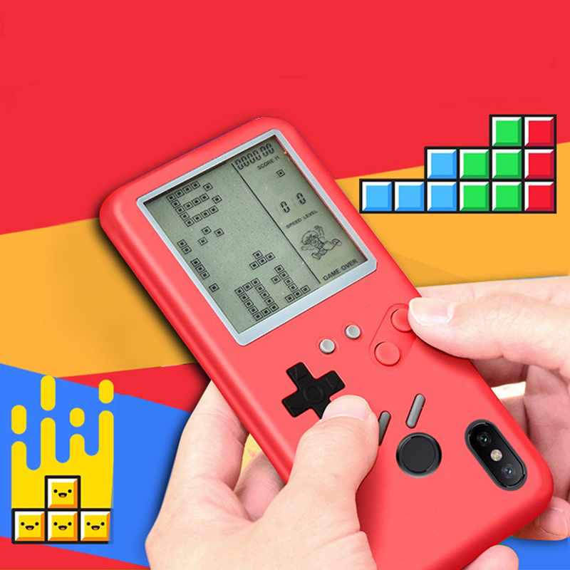2019 Can Play Tetris Gameboy Phone Case For Xiaomi Mi 6X 8 Mi A2 cover For