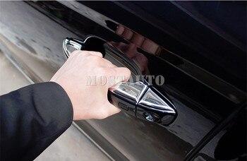 Außentürleiste | Für Audi A6 S6 ABS Chrom Außen Auto Türgriff Abdeckung Trim 2012-2018 8 Stücke
