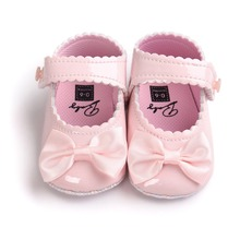 0~18month pink color spring summer baby girls princess infantil sneakers baby shoes non slip-on first walkers shoe