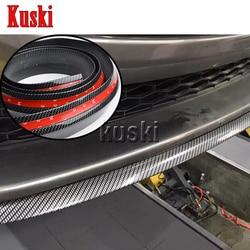 2.5 m Adesivi Auto Davanti Mento Spoiler Per Mercedes W211 W203 W204 W210 W212 W205 W220 AMG Mazda 3 6 CX-2 CX5 CX-Accessori