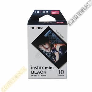 Image 2 - 정품 후지 필름 후지 Instax 미니 필름 단색 모노 + 블랙 프레임 필름 미니 11 9 7s 70 8 플러스 90 25 카메라 SP 1 SP 2 플러스
