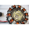 Cool ! 1:1 scale Iron Man Arc Reactor need to assemble Reactor diameter of  8cm with LED Light  Action Figure Toy Gift Kid
