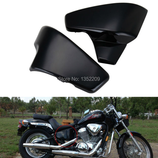 Motorcycle ABS Battery Side Faring Cover Fit For Honda VLX 600 Shadow  Deluxe VT 600 CD