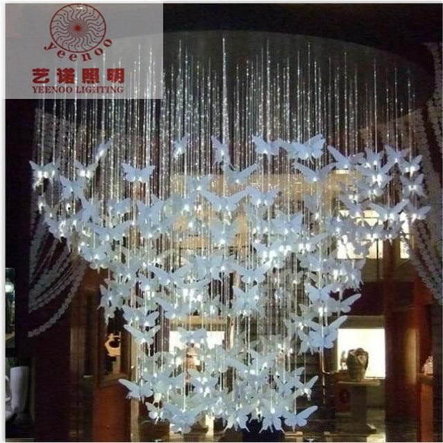 Fiber Optic Star Ceiling Kit Butterfly Bedroom Lamp Creative - Fiber optic bedroom lighting