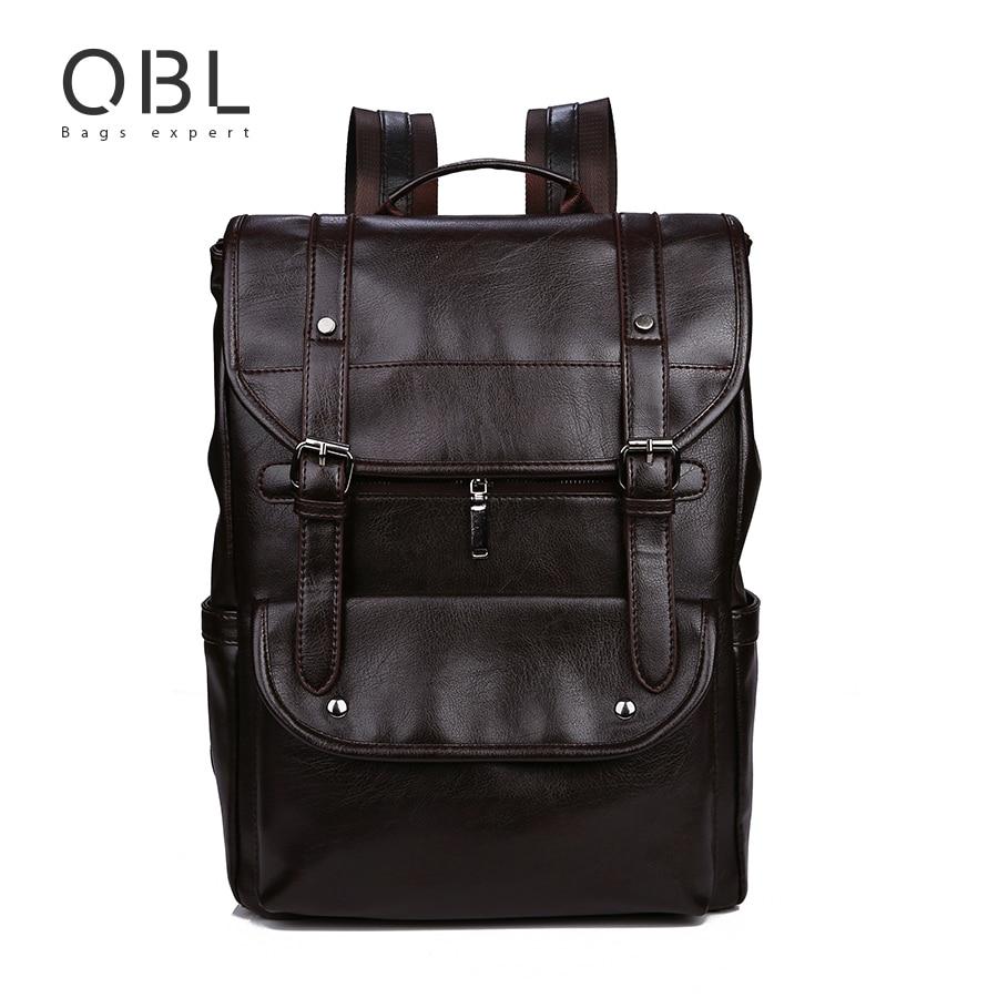 QiBoLu 2017 Vintage Backpack Men Bagpack Back Pack for Travel Laptop Sac a Dos Homme Mochilas Hombre Mochila Masculina MBA77