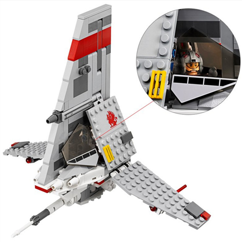 2016 yeni STAR WARS bela 10372 246 adet T-16 Atlama space fighter yapı taşları tuğla oyuncaklar çocuk hediye Ile Uyumlu Lego