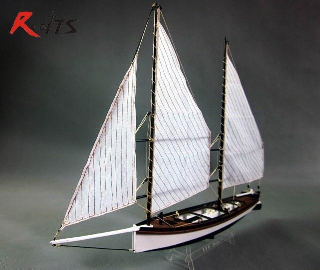 Realts 1 24 Laser Cut Wooden Sailboat Model Kit The