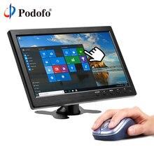 Podofo 10.1 «подголовник автомобиля Мониторы dvd-плеер Full HD TFT ЖК-дисплей Экран тонкий Дизайн УФ покрытие HDMI VGA AV USB SD Порты и разъёмы