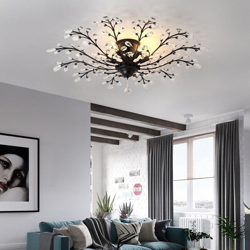 Verwonderend Goede Koop LED Crystal Slaapkamer Plafond Lamp Voor Kinderen DT-03