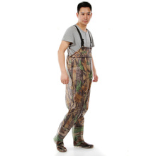 2017 Camouflage Fishing Waders PVC Breathable Chest Waders Fishing Pants Waterproof Boots Wear Dichotomanthes End Fishing Waders