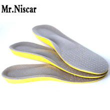 LEO Unisex Breathable Sweat Absorbing Orthotic Insoles Soft Comfortable Athletic Insole Shock Military Training Sport Shoe Pad
