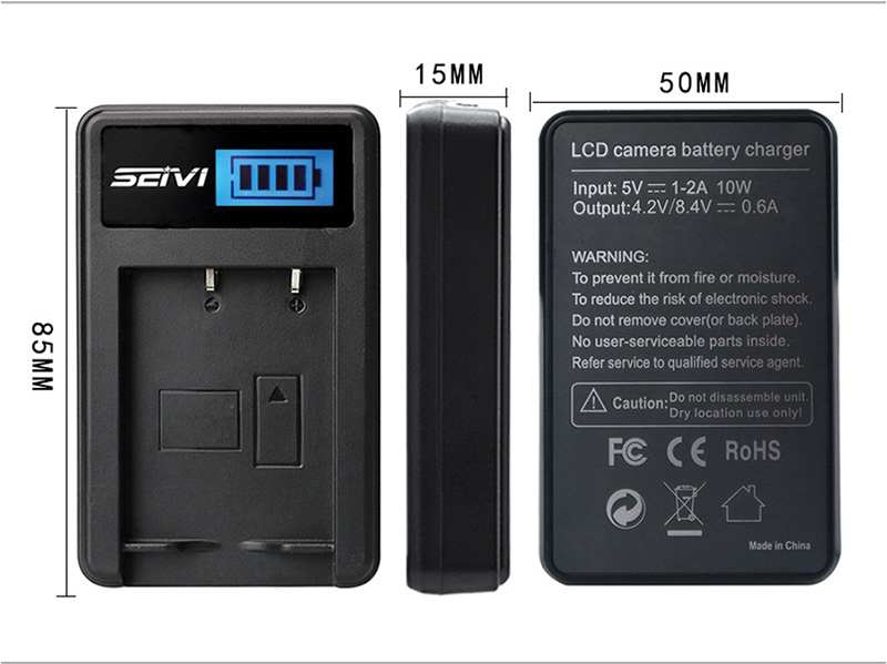 For-Sony-NP-FV50-LCD-USB-Charger-+-1400mAh-NP-FV50_13