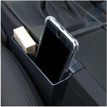car-styling for volvo s60 xc60 v60 storage box Flocking Car stickers Holder Container