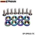 Epman JDM крыло Washers Neo хром для Honda Civic интегра Rsx EK е . г . 8 шт. EP-DP01S-7C