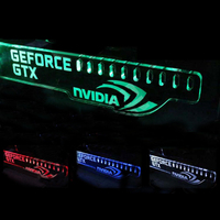 HIS G8 GeForce GTX NVIDIA LED Computer Cables Connectors Luminous Computer Main Box Graphics Cards Support