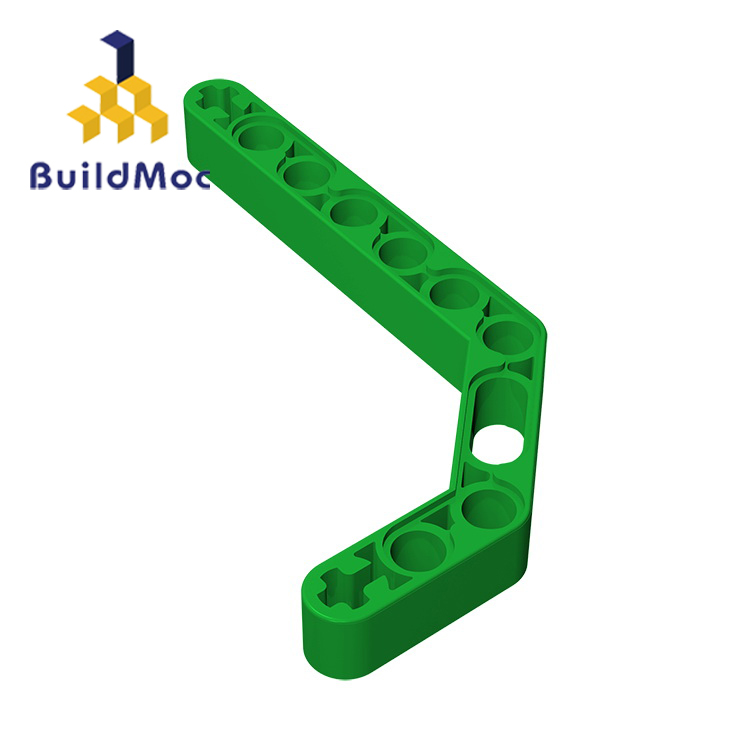 BuildMOC Compatible Assembles Particles 32009 3X7 For Building Blocks Parts DIY LOGO Educational Creative Gift Toys